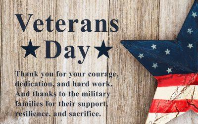 Veterans Day Thanks