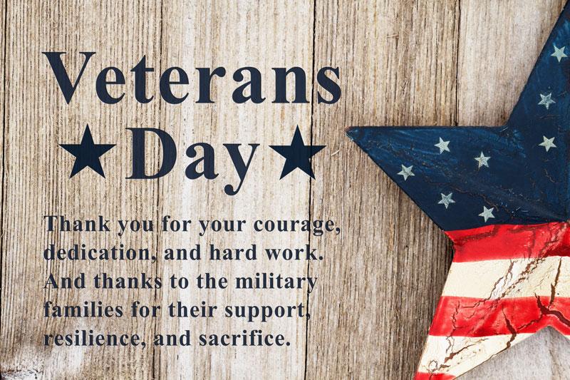 Veterans Day Thanks from SPP